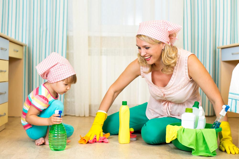 Tips Melatih Anak Hidup Bersih