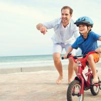 Ajak Si Kecil Berani Naik Sepeda