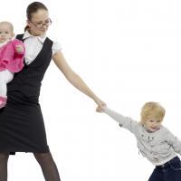 Ketika Si Kecil Tak Mau Berpisah dengan Moms