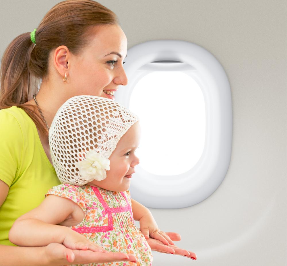 3 Risiko Utama Membawa Batita Terbang