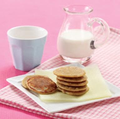 Resep Makanan Balita Pancake Mini Havermut