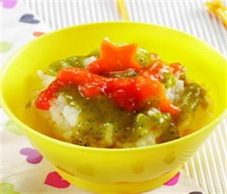 Nasi Siram Sayur