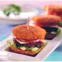 Resep Makanan Balita - Burger Nasi