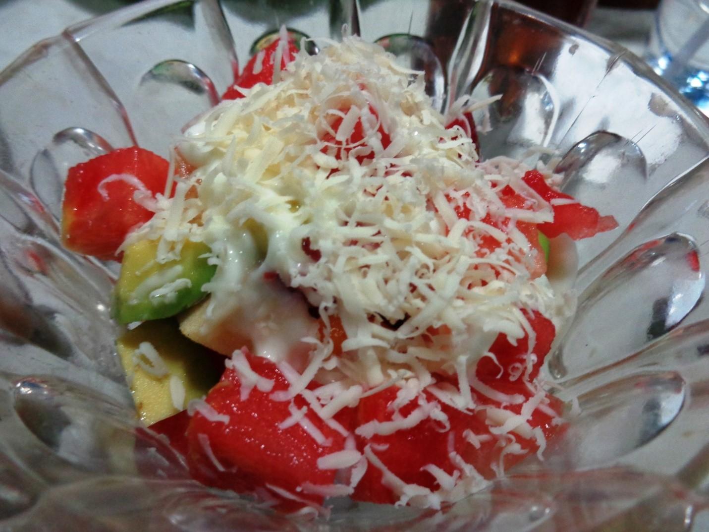 Salad Buah Ice Cream Agar Si Kecil Semangat Makan Buah