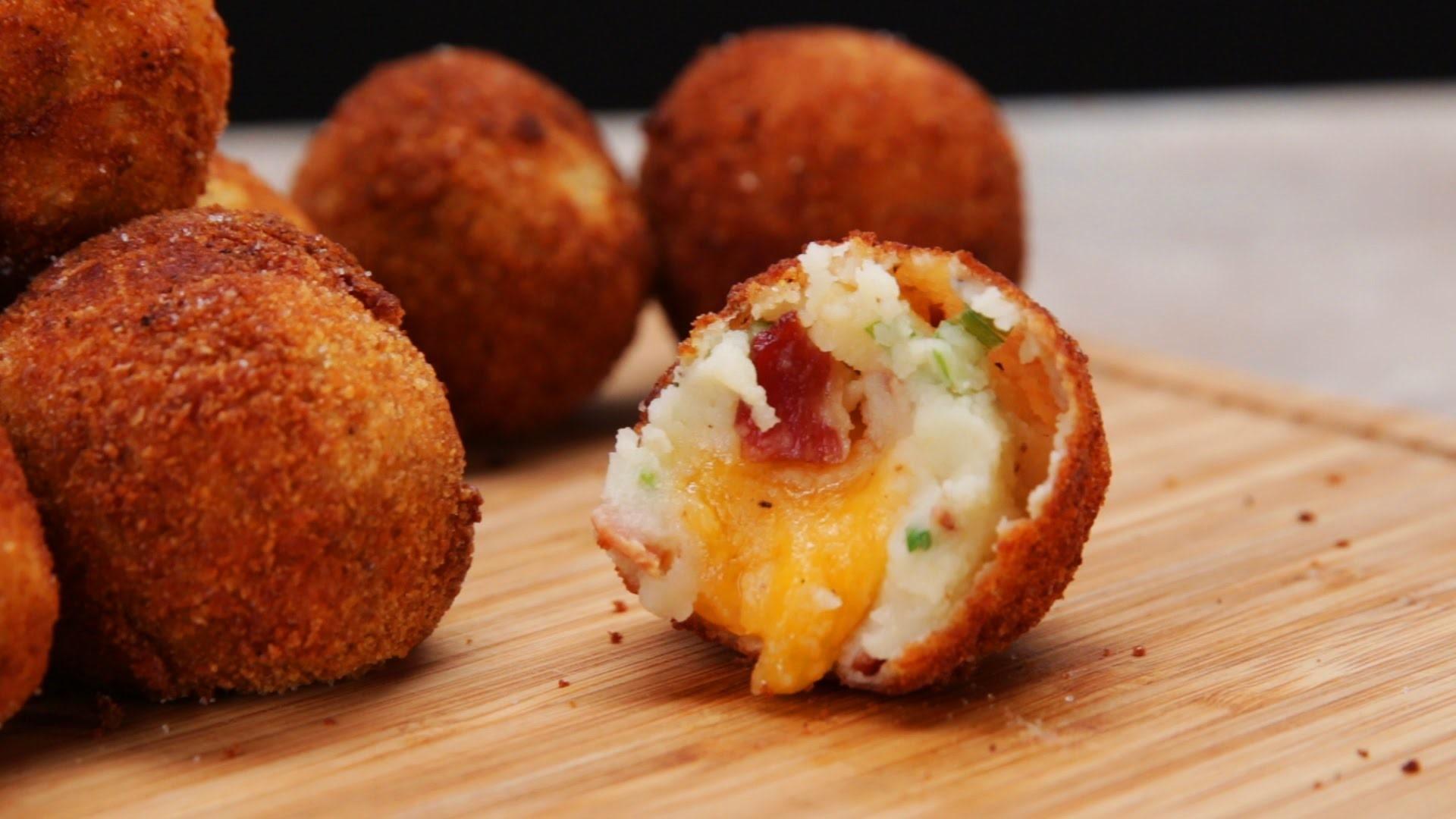 Bekali Si Kecil dengan Potato Balls with Cheese Ini Yuk Moms