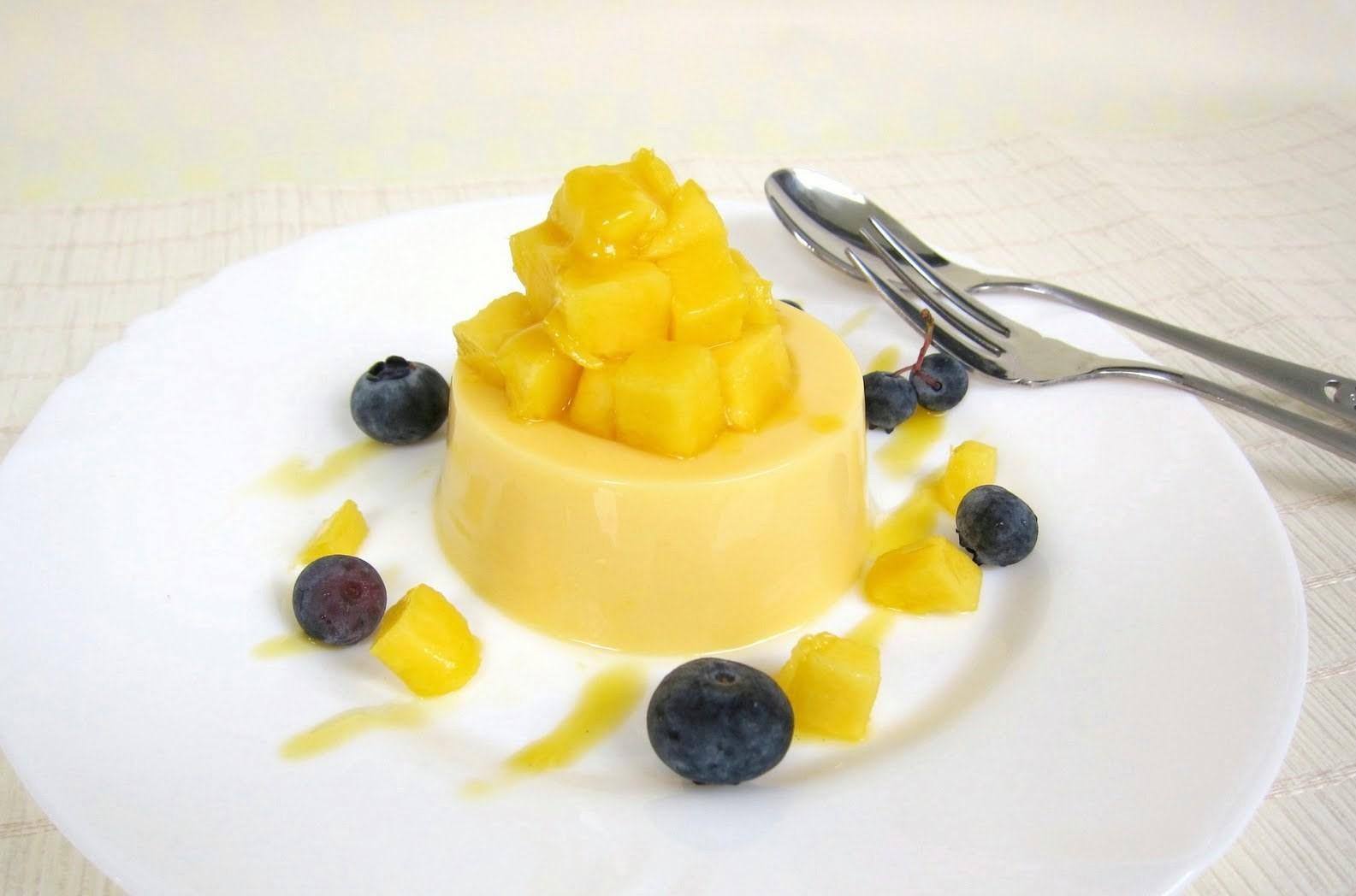 Pudding Mangga Saus Leci, Hidangan Penutup Favorit Keluarga