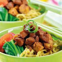 Mi Ayam Pangsit Tempe, Hidangan Mi Ayam yang Lebih Sehat dan Lezat