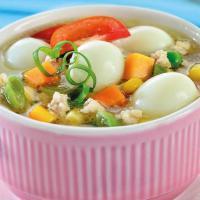 Sup Telur Ayam Giling, Sup Hangat yang Lezat dan Sehat