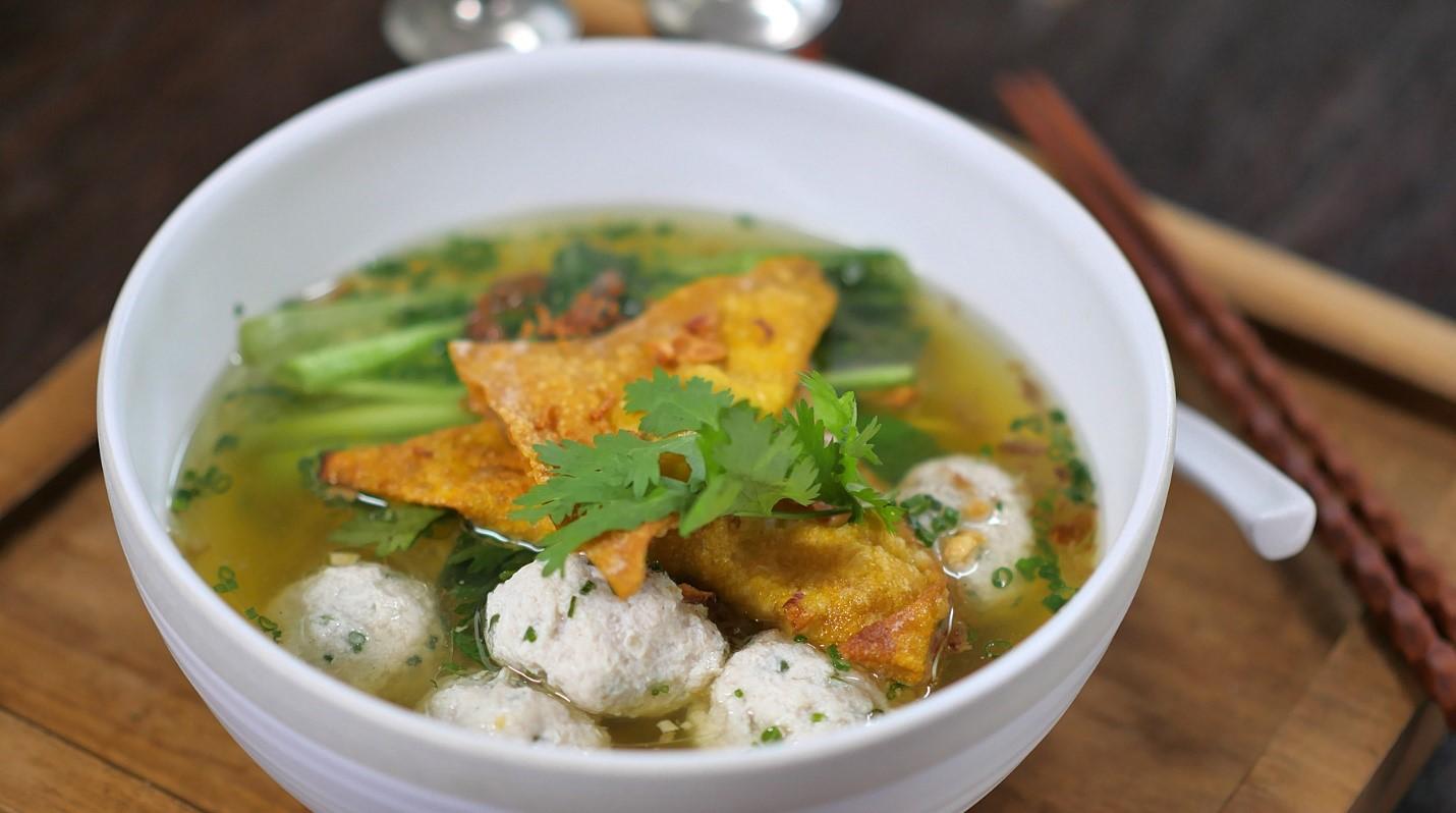 Fish Meatball Soup, Sup Bakso Ikan yang Lezat dan Sehat