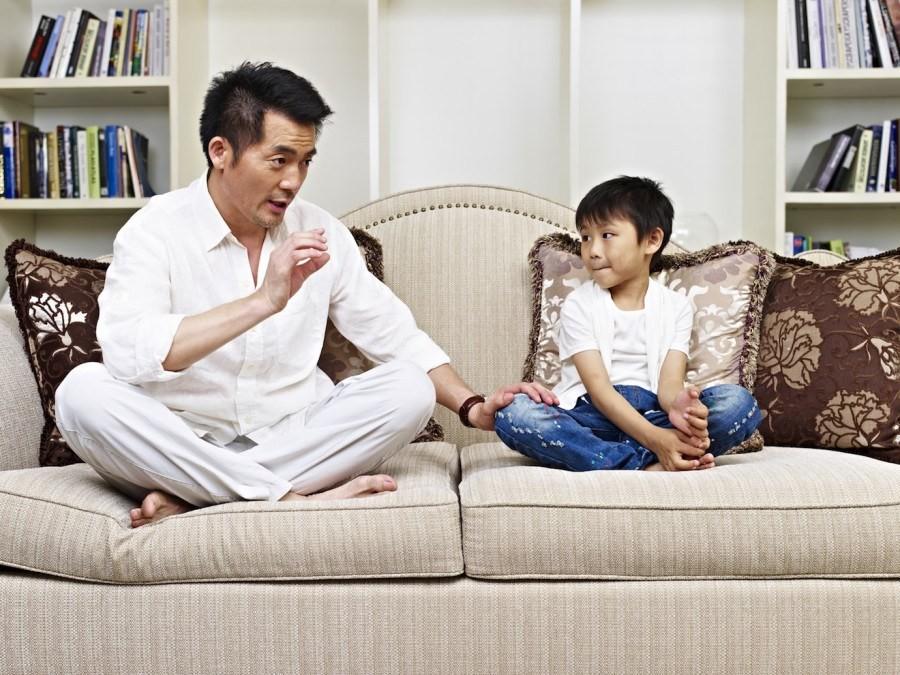 Hati-hati Dads, Terlalu Galak Bisa Sebabkan Si Kecil Jadi Pembohong