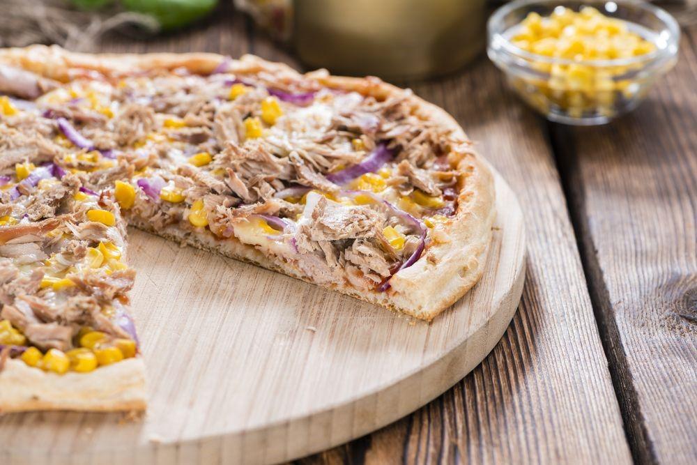 Coba Buat Sweet Corn Tuna Pizza Sendiri Yuk, Moms!