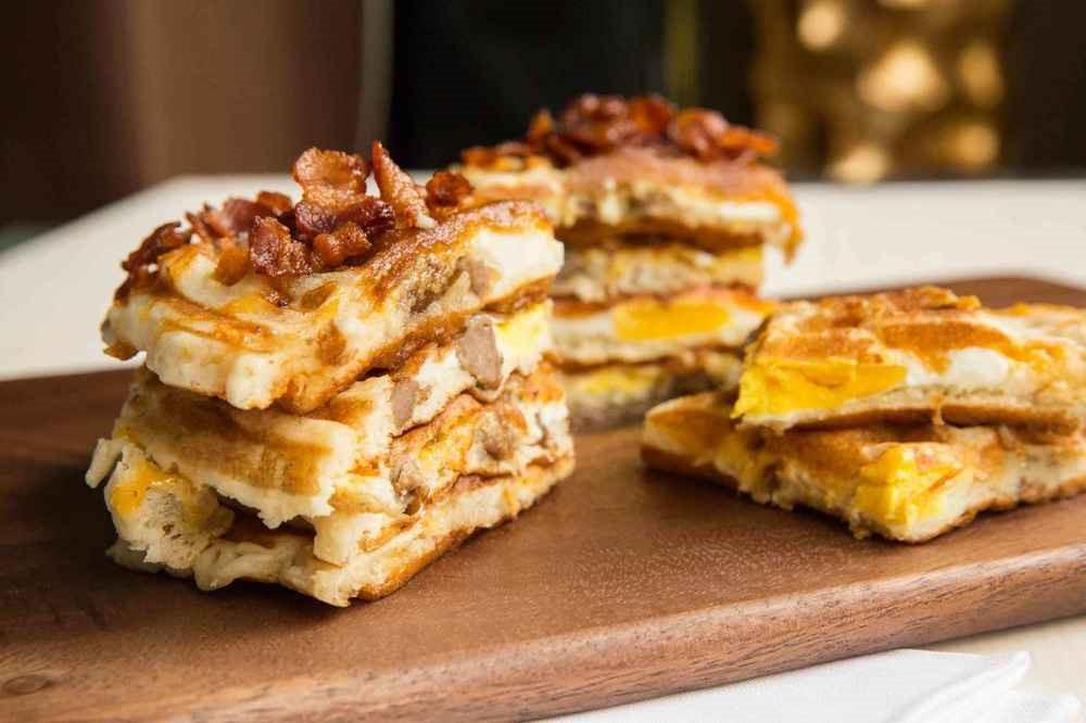 Yuk Cobain Bikin Salted Hash Brown Waffles. Mudah Kok!